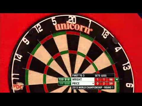 PDC World Darts Championship 2015 - First Round - Wright vs Price