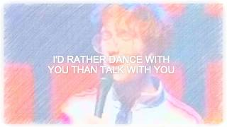 Kings of Convenience - I'd Rather Dance With You // Lyrics