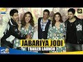 Jabariya Jodi Trailer Launch Full HD Event | Sidharth Malhotra, Parineeti Chopra | 2nd August 2019