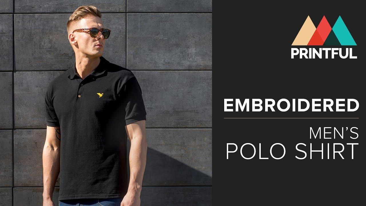 Gildan 3800 Embroidered Polo Shirt
