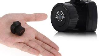 Самая маленькая в мире HD видеокамера Y3000 (обзор)(Самая маленькая в мире HD видеокамера Y3000 за 450 руб. группа ВК: https://vk.com/lucifer_room_club Фоновая музыка: Em(022000) - Намеч..., 2014-12-28T19:52:59.000Z)