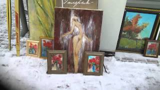 Экскурсия по Удельному рынку антиквариата Санкт-Петрбург Картины(, 2015-01-19T13:48:34.000Z)