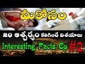 Interesting Facts Ep-2 in Telugu by TriConZ |Amazing Top Most Strange Interesting Facts in the world