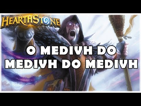 HEARTHSTONE - O MEDIVH DO MEDIVH DO MEDIVH! (STANDARD DRAGON PRIEST)