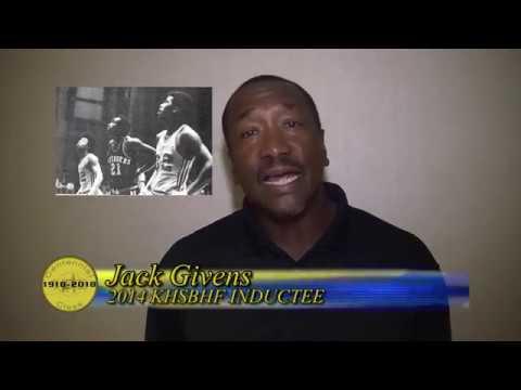 Jack Givens - Kentucky High School Basketball Centennial Celebration