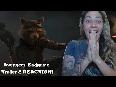 Marvel Studios' Avengers 4 Endgame Official Trailer #2 REACTION!