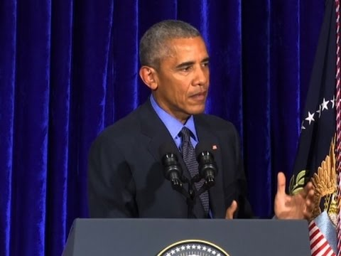 Obama Holds News Conference at ASEAN Close