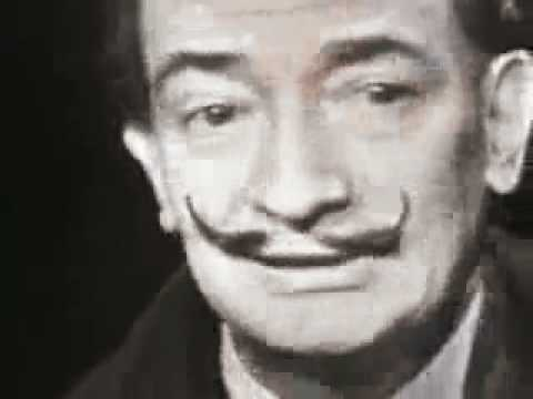 Salvador Dali   Mike Wallace  1958   Part 1 2   YouTube