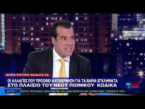 Θ. Πλεύρης στο One Channel: Φοβάμαι τη μάχη με το ελληνικό κράτος
