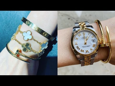 MY MOST USED JEWELRY | How To remove Scratches from Cartier Love Bracelet at home