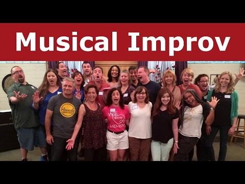 Laura Hall Live Musical Improv