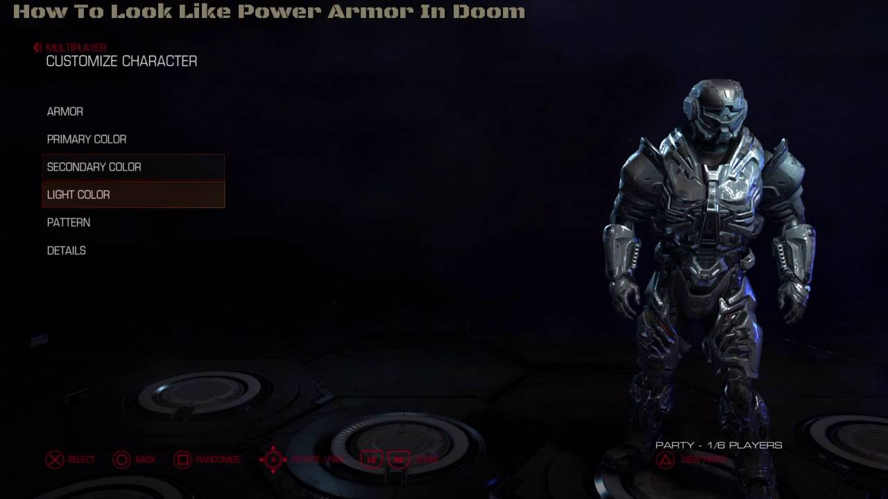 How To Look Like Power Armor In Doom