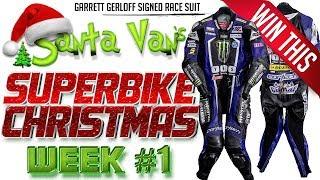 Santa Van's Superbike Christmas: Week 1 Garrett Gerloff Signed Race Suit Giveway