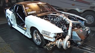 TWIN TURBO Ford Mustang - 102mm Turbochargers!