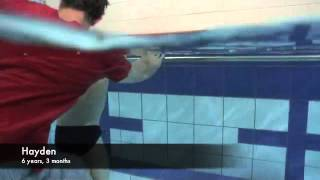 uSwim, level 3, skill 4 - how to teach my child Freestyle.flv