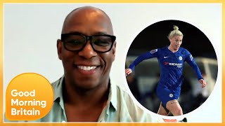 Ian Wright: Female Footballers Don't Need to Join the Men's Professional League | GMB