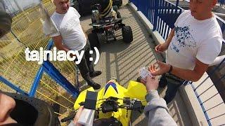ATV Sand Dunes GoPro | Piaskarnia żwirownia | 2x Quady Suzuki LTZ 400 LT-Z400 | hill climbs riding