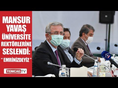 Ankara Büyükşehir Belediye Başkanı Mansur Yavaş Üniversite Rektörlerine Seslendi