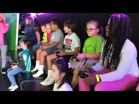 Rehoboth Elementary School Awesome Video Game Reward Event Highlights Part 1