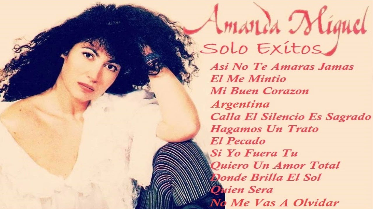 AMANDA MIGUEL SOLO EXITOS
