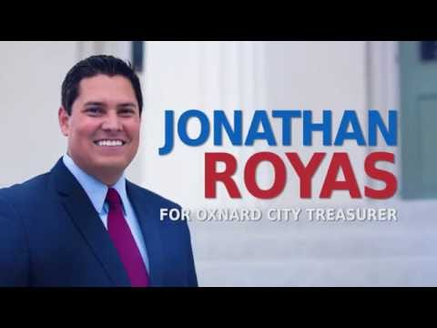 Jonathan Royas for Oxnard City Treasurer