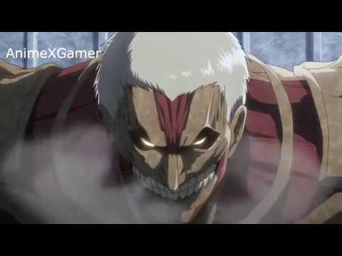 Eren vs Reiner scene OST - Shingeki no Kyojin Season 3 Part 2 episode 2 「進撃の巨人 Season 3 Part.2」