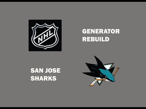NHL GENERATOR REBUILD FT  SAN JOSE SHARKS