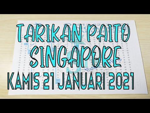Tarikan Paito Singapore Kamis 21 Januari 2021 || SGP Jitu