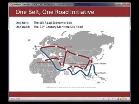 CBBC Webinar - One Belt One Road   Future Opportunities in China and Beyond
