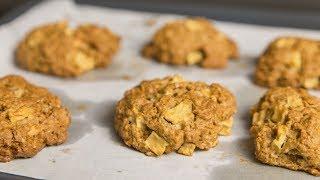 Овсяное печенье с яблоками | Мужской рецепт на День Святого Валентина