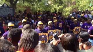 Q-dogs Psi Chapter Of Omega Psi Phi Fraternity, Inc. Fall 2013 Probate.