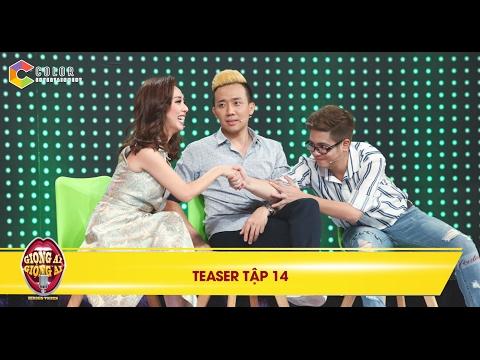 Giọng ải giọng ai   teaser tập 14: Bùi Anh Tuấn lễ phép quá mức khiến Thu Trang thích thú