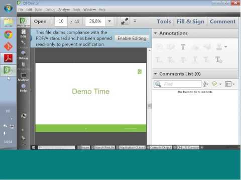 Intro to Qt Creator | Qt Virtual Bootcamp 2014