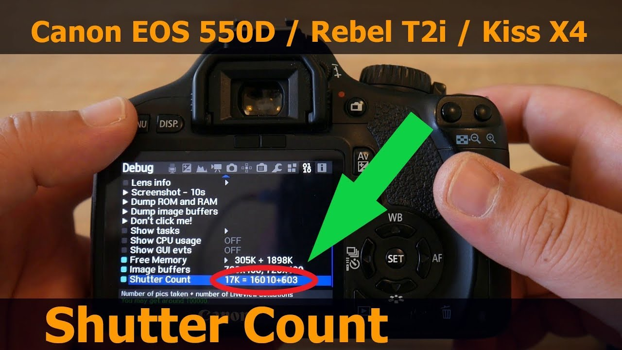 how to check canon camera firmware version