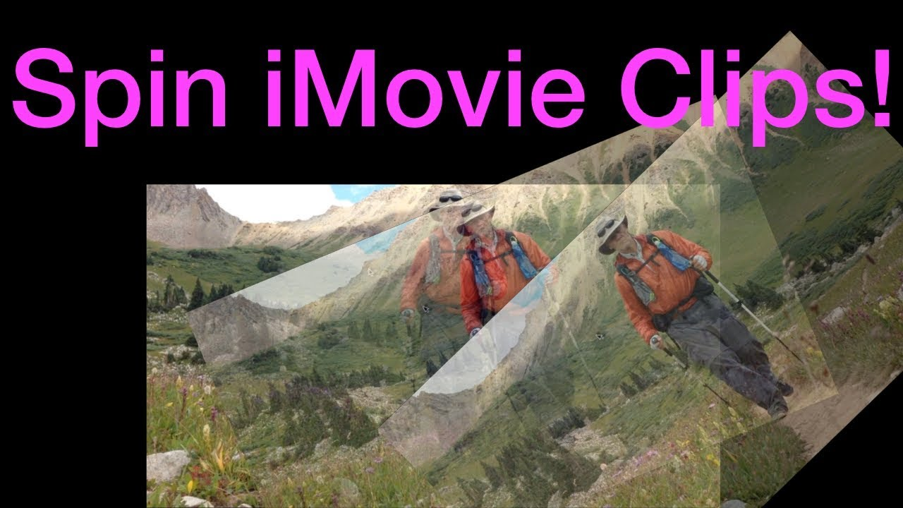 iMovie spin/rotate clip hack