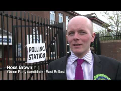 Assembly election - report from Short Strand in east Belfast