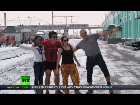 NewsTeam: The Kiev dilemma & Thabby's Trans-Siberian (E21)