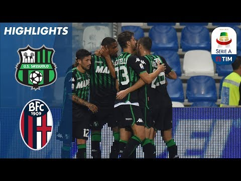 Sassuolo 2-2 Bologna   Late Boateng Penalty Saves Sassuolo From Home Defeat    Serie A