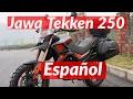 Moto JAWA TEKKEN 250 CC CROSS/ENDURO / TOURING / TRIAL Imágenes Características Español 2017