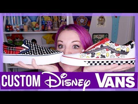 I Made My Own CUSTOM Disney Shoes!!