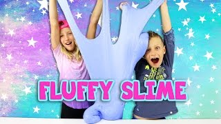 DIY GIANT FLUFFY SLIME!