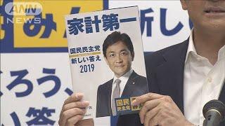 国民民主「家計第一」ひきこもりなど支援強化公約に(19/06/14)