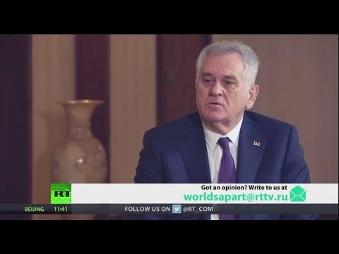 Balkan rout? President of Serbia Tomislav Nikolic
