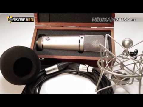 NeumannU87 Ai Shockmount Set Z Microphone with Box