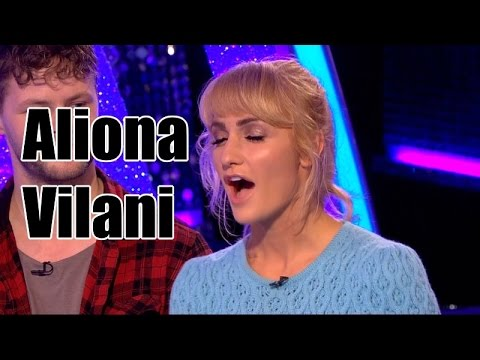 Aliona Vilani  tiny skirt  killer thighs