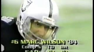 1984 week 14 Raiders at Dolphins