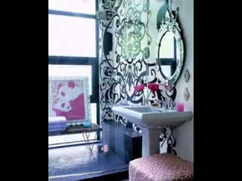 diy bathroom decorating ideas youtube. Black Bedroom Furniture Sets. Home Design Ideas