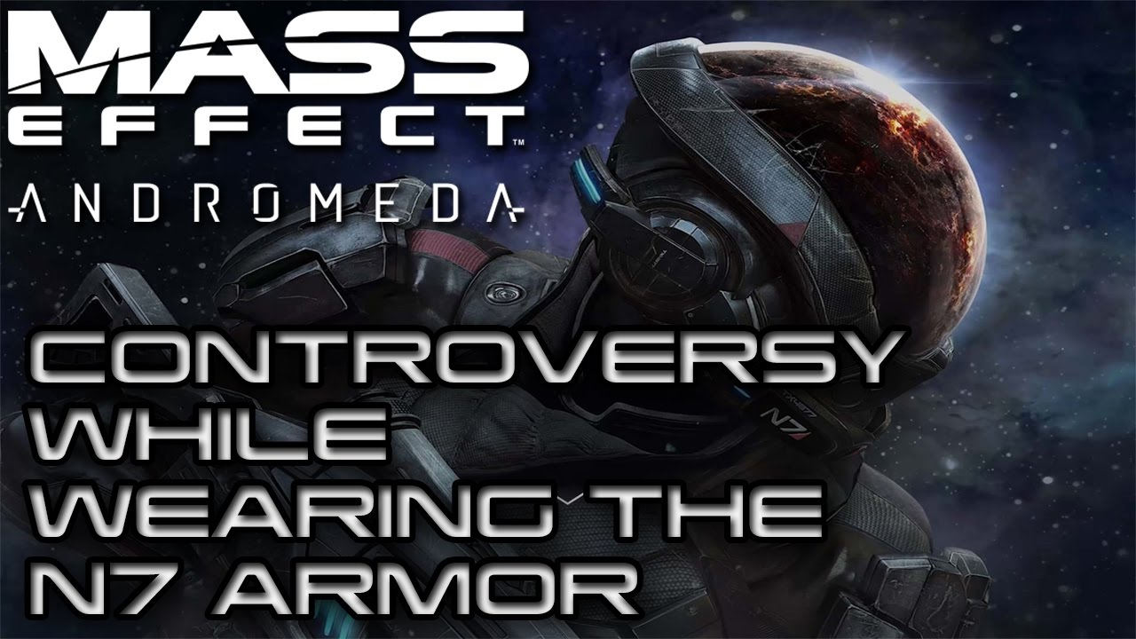 N7 Armor Mass Effect Andromeda: You Can Wear The N7 Armor On Mass Effect Andromeda But Not