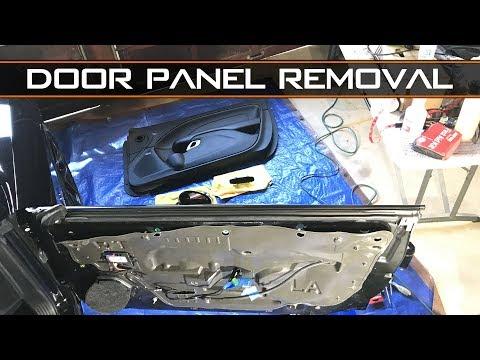 2015+ Challenger interior door panel removal - Install