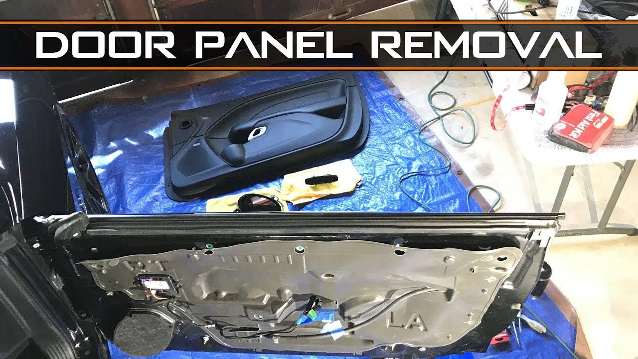 small resolution of 2015 challenger interior door panel removal install